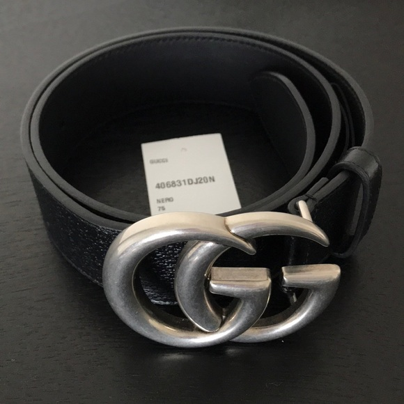 6074a1e61aa9 Gucci Accessories | Belt Double G Silver Buckle | Poshmark